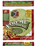 Ole Xtreme Wellness Spinach & Herbs Tortilla Wraps, 8ct Packs - 6 Pack Case