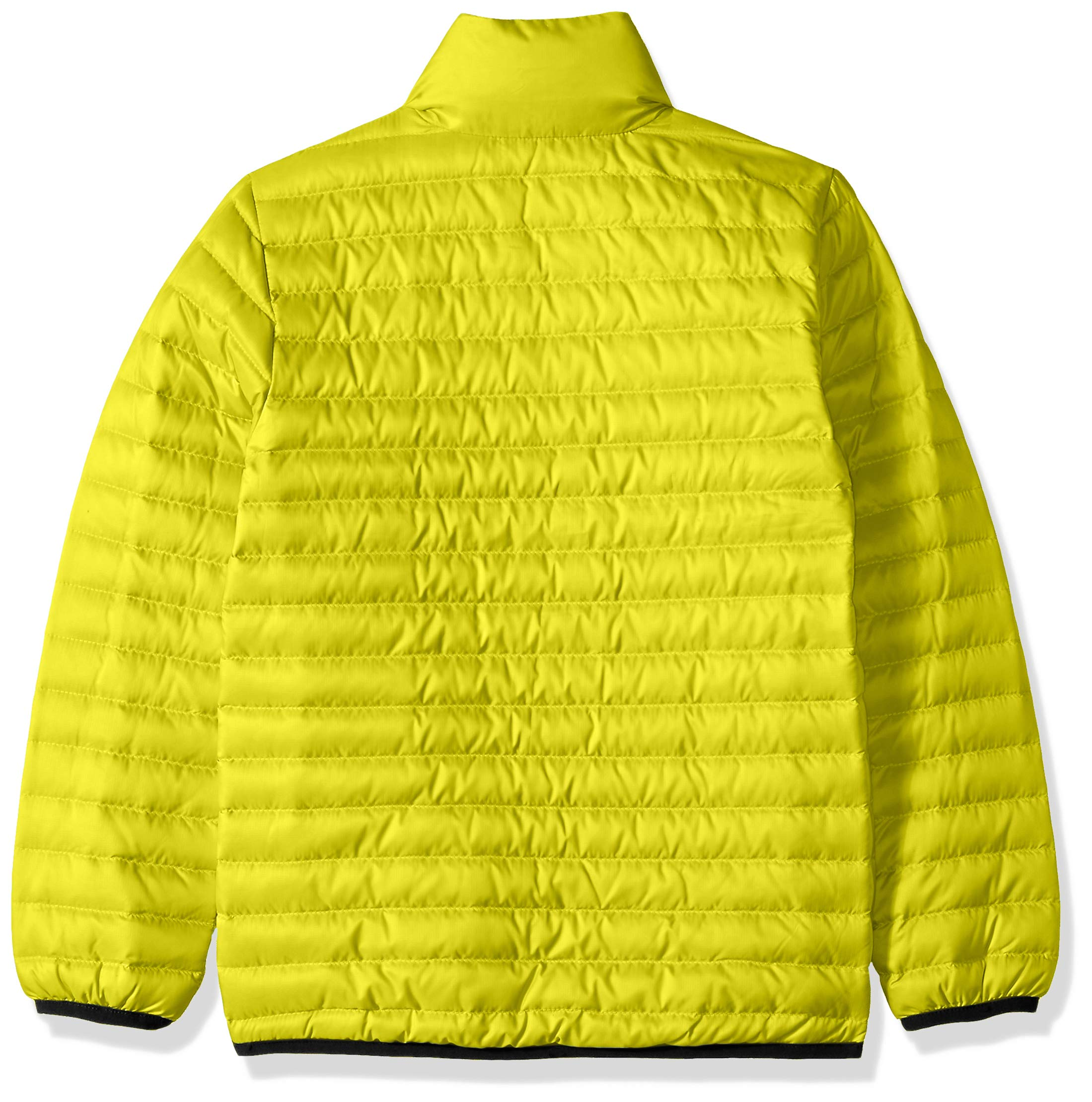 Helly Hansen Jr Barrier Down Insulator Jacket, Sweet Lime, Size 10 by Helly Hansen (Image #2)