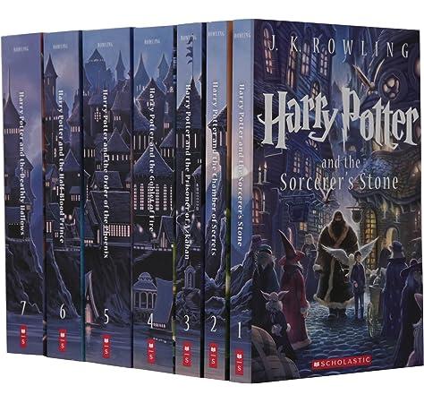 Scholastic: Special Edition Harry Potter Paperback Box Set: Amazon.es: Kibuishi, Kazu, GrandPré, Mary, Rowling, J.K.: Libros en idiomas extranjeros
