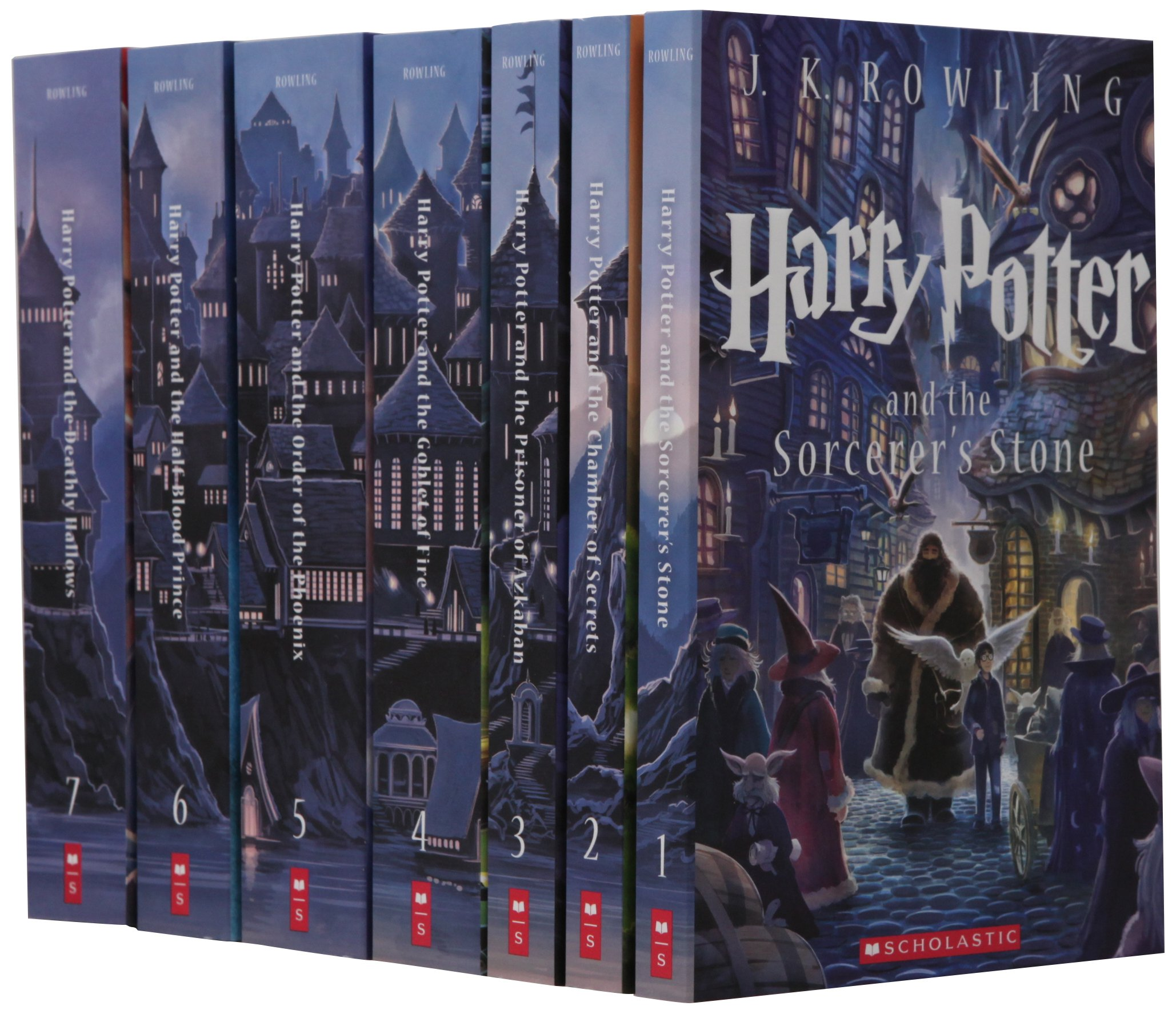 Scholastic: Special Edition Harry Potter Paperback Box Set: Amazon ...