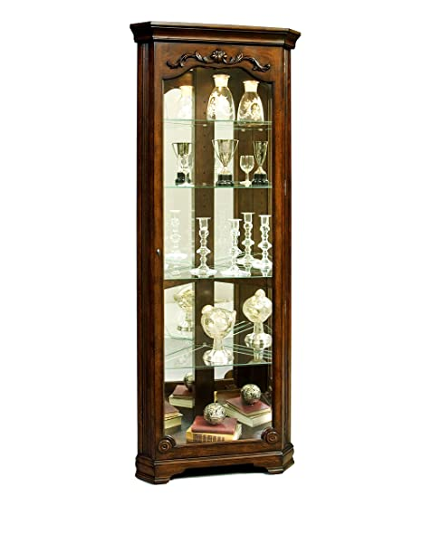Gentil Amazon.com: Pulaski Corner Curio, 27 By 15 By 75 Inch, Brown: Kitchen U0026  Dining