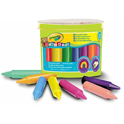Crayola Beginnings Jumbo Crayons (24): Toys & Games
