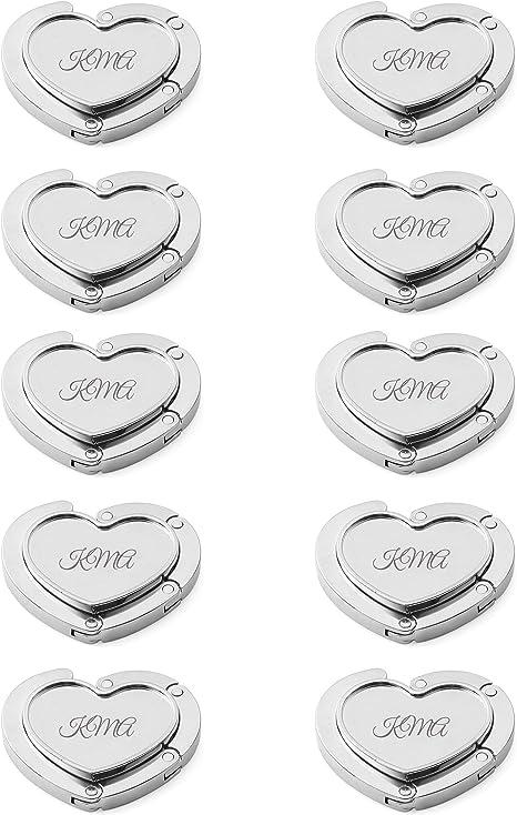 Amazon.com: Pack de 10 personalizado corazón plegable ...