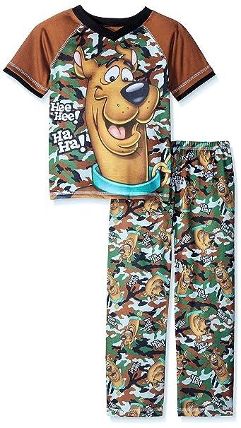 597b6d82a7 Scobby Doo Boys Camo Pajama Set