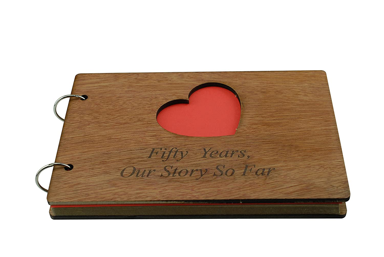 Photo album or Notebook Idea For 50th Anniversary Scrapbook 50 Years Our Story So Far