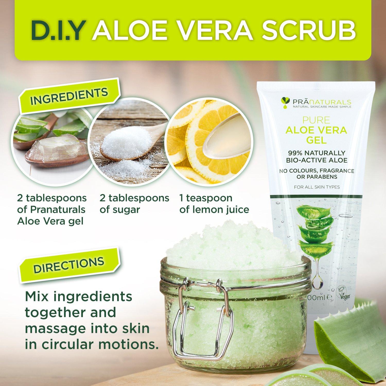 PraNaturals Aloe Vera Gel - moisturizer for combination skin