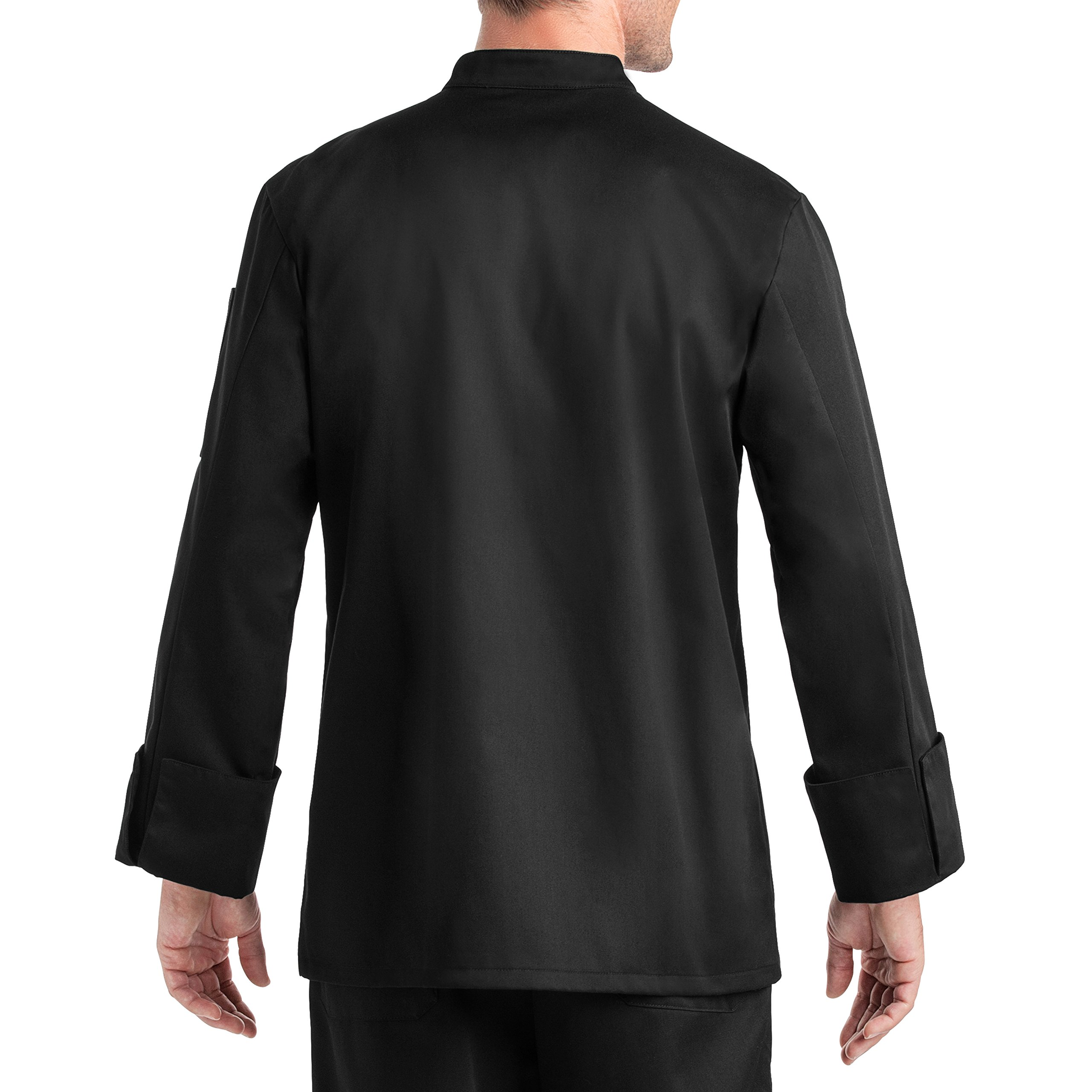 On The Line Men's Long Sleeve Chef Coat (S-2X, 2 Colors) by On The Line (Image #3)