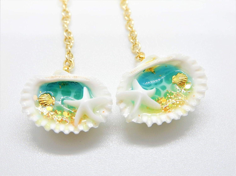 Amazon.com: Seashell Earrings, Resin Seashell Earrings, Ocean Earrings,  Beach Earrings, Sea Earrings, Resin Earrings, Resin Jewelry: Handmade