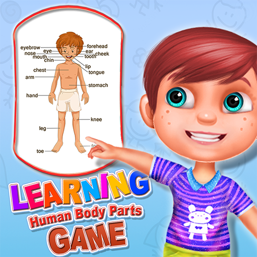 Learning Human Body Parts Game - Fun way to learn the human biology for - Part Name Leg