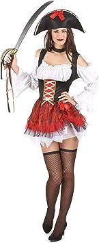 Disfraz de pirata sexy mujer S/M: Amazon.es: Juguetes y juegos