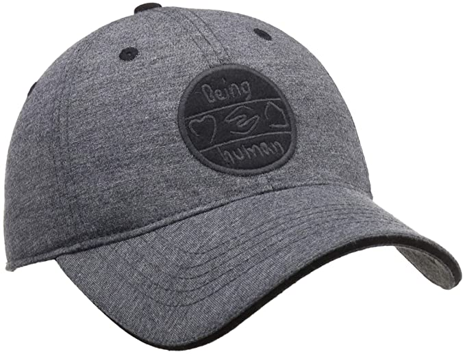 8d51a1aa295f Being Human Men s Baseball Cap (BHMC7126 Charcoal Fs)  Amazon.in  Clothing    Accessories