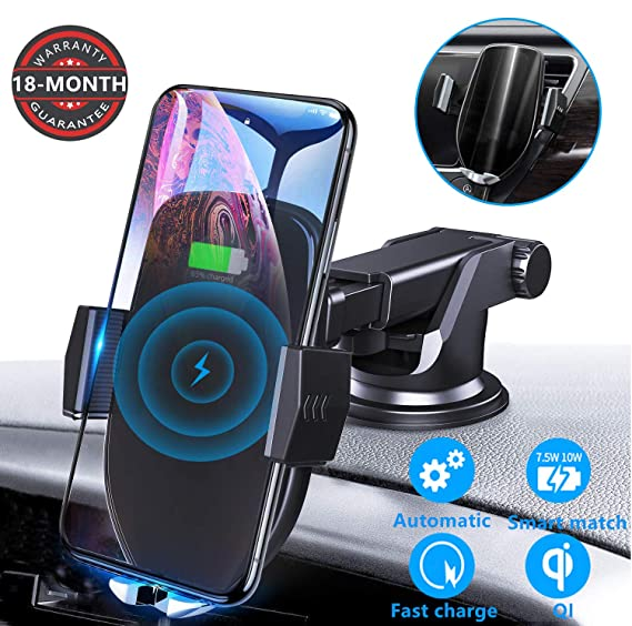 Amazon.com: Cargador de coche inalámbrico Letulu de 10 W, 7 ...