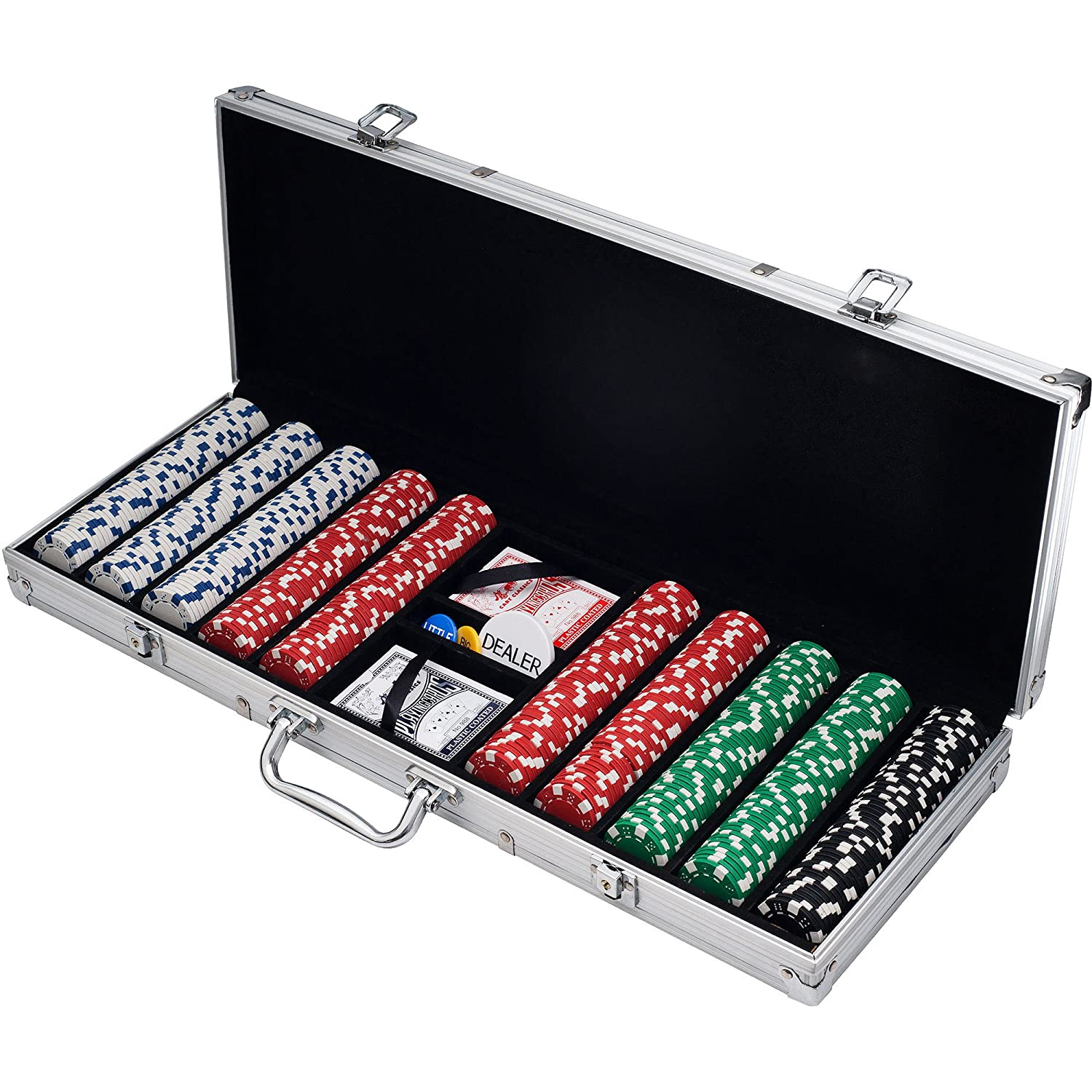 500 Diceスタイルカジノ重量Poker Chipセット B00OFNJ4S2 500 Chipセット B00OFNJ4S2, オマケ des shoes and bag:39bf0a4f --- itxassou.fr