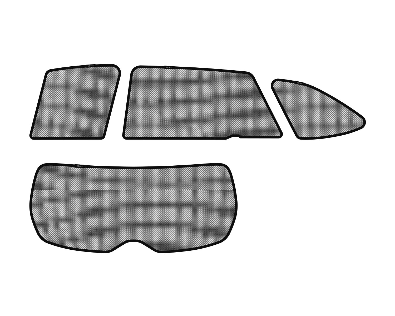 3D MAXpider S1SB0130 Soltect Complete Set Custom Fit Sun Shade (for Select SUBARU Outback Models)