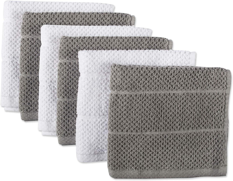 Room Essentials Gray Stripe Dishcloth Set Of 6