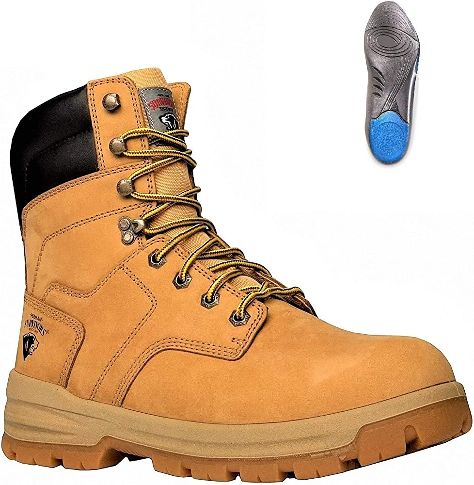 Steel Toe Construction Work Boots