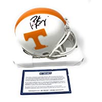 $199 » Peyton Manning Tennessee Volunteers Signed Autograph Mini Helmet Certified