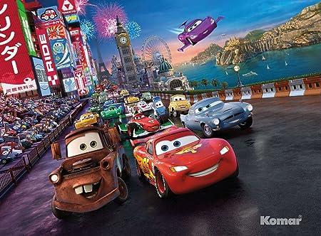 Cars Race Disney Papel Pintado Fotográfico Wallpaper
