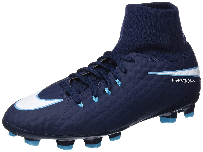 Nike Unisex-Erwachsene Hypervenom Phelon 3 Df Fg Jr 917772 414 Turnschuhe