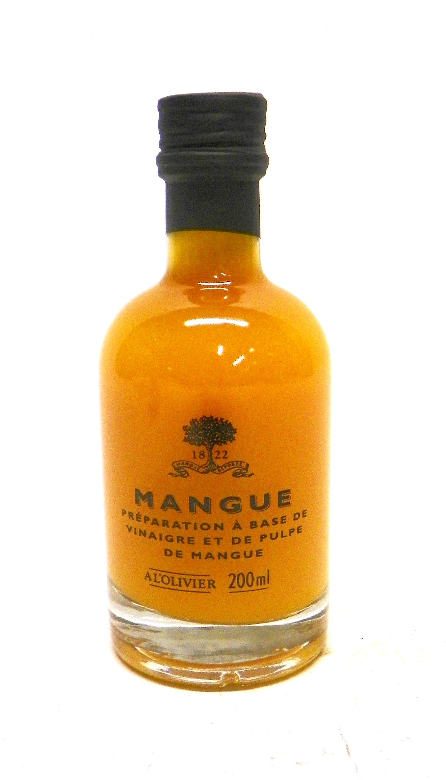 A L'Olivier Mango Fruit Vinegar, 7-Ounce