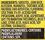 Sour Patch Kids Extreme Sugar Free Gum, Blue