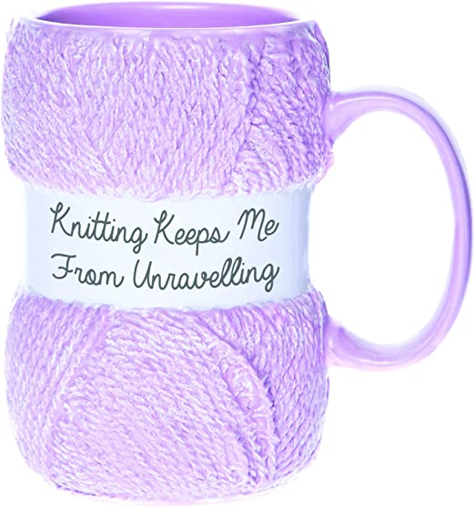 Office Home Novelty Gift Knitting Room If I/'m Sitting I/'m Knitting Personalized Name Mug Custom Text Coffee Cups
