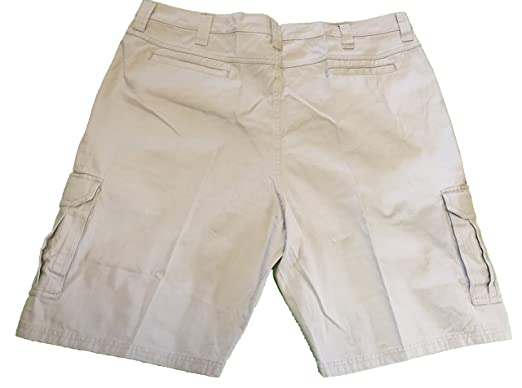 complete in specifications highly praised san francisco Wrangler Men's Cargo Shorts Flat Front Tech Pocket Khaki ...