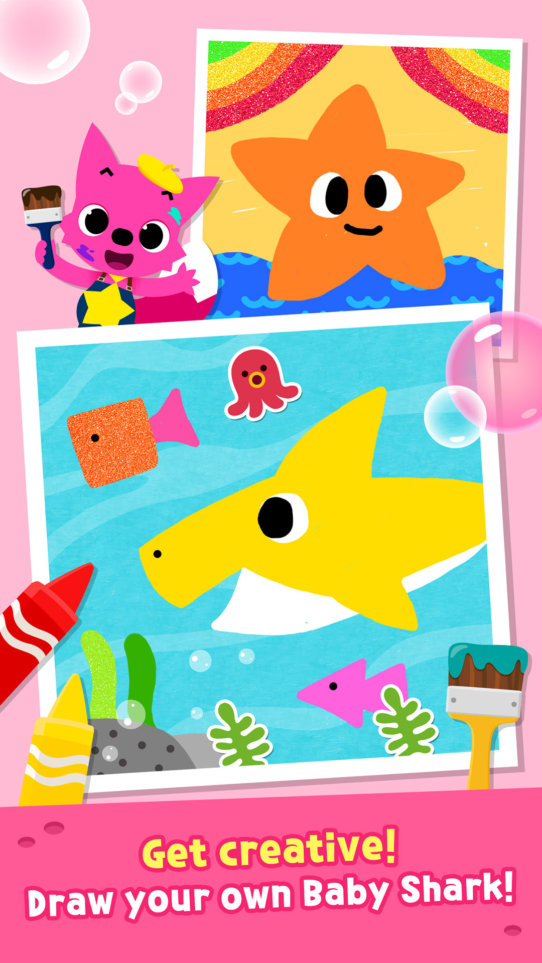 Amazon Pinkfong Baby Shark Coloring Book Appstore