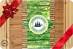 """Professional Bamboo Cutting Board 