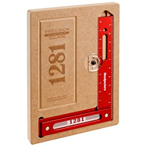 Woodpeckers Precision Woodworking Tools 1281R Woodworking Square Imperial