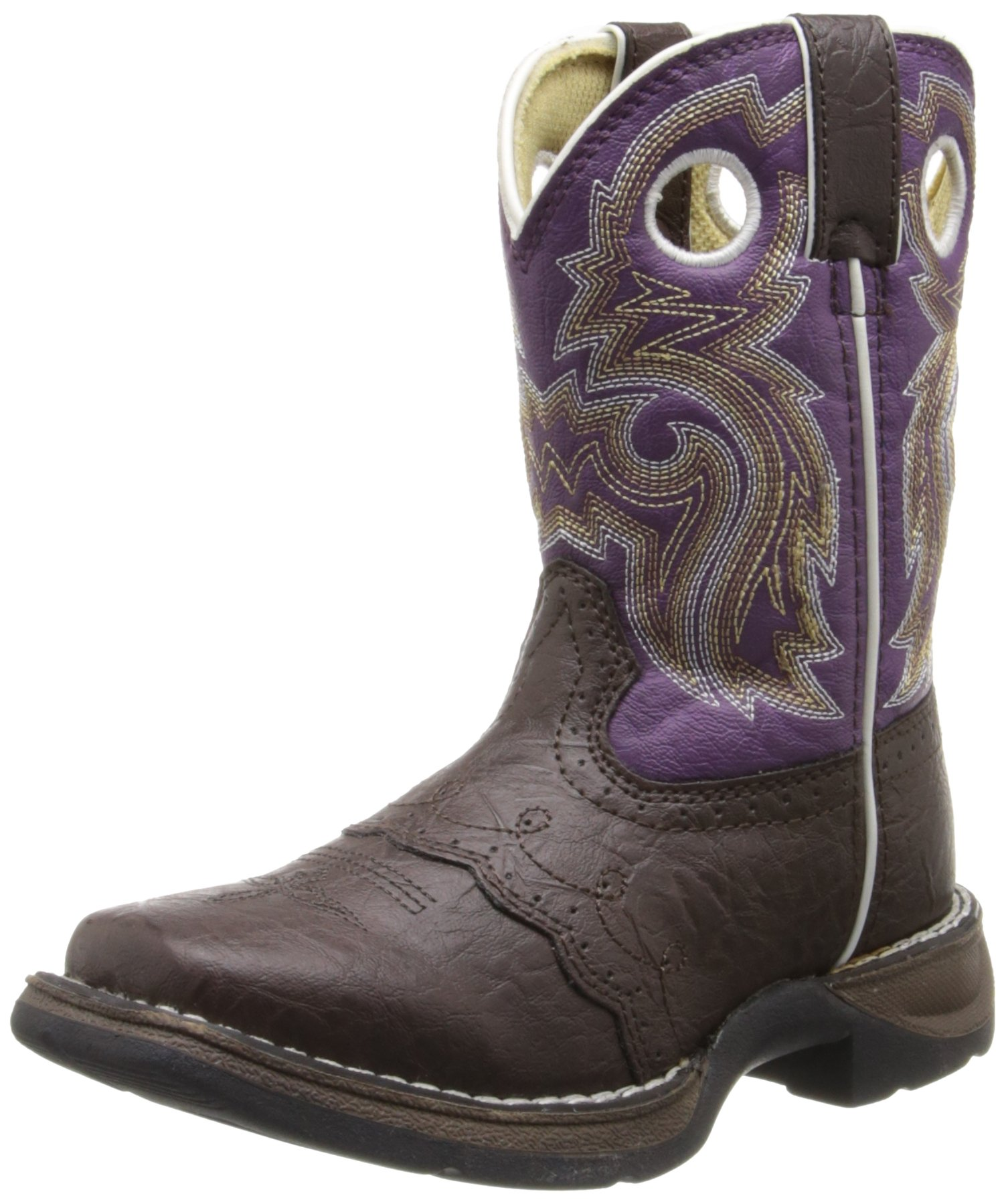 Lil' Rebel by Durango Girl's Brown Lacey Western by Durango (Image #1)