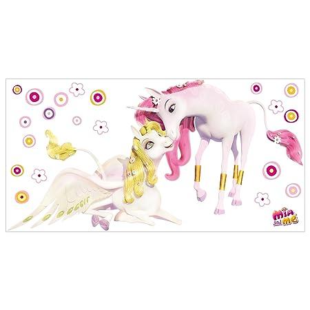 Vinilo adhesivo para pared, diseño de unicornios de Mia y Me ...