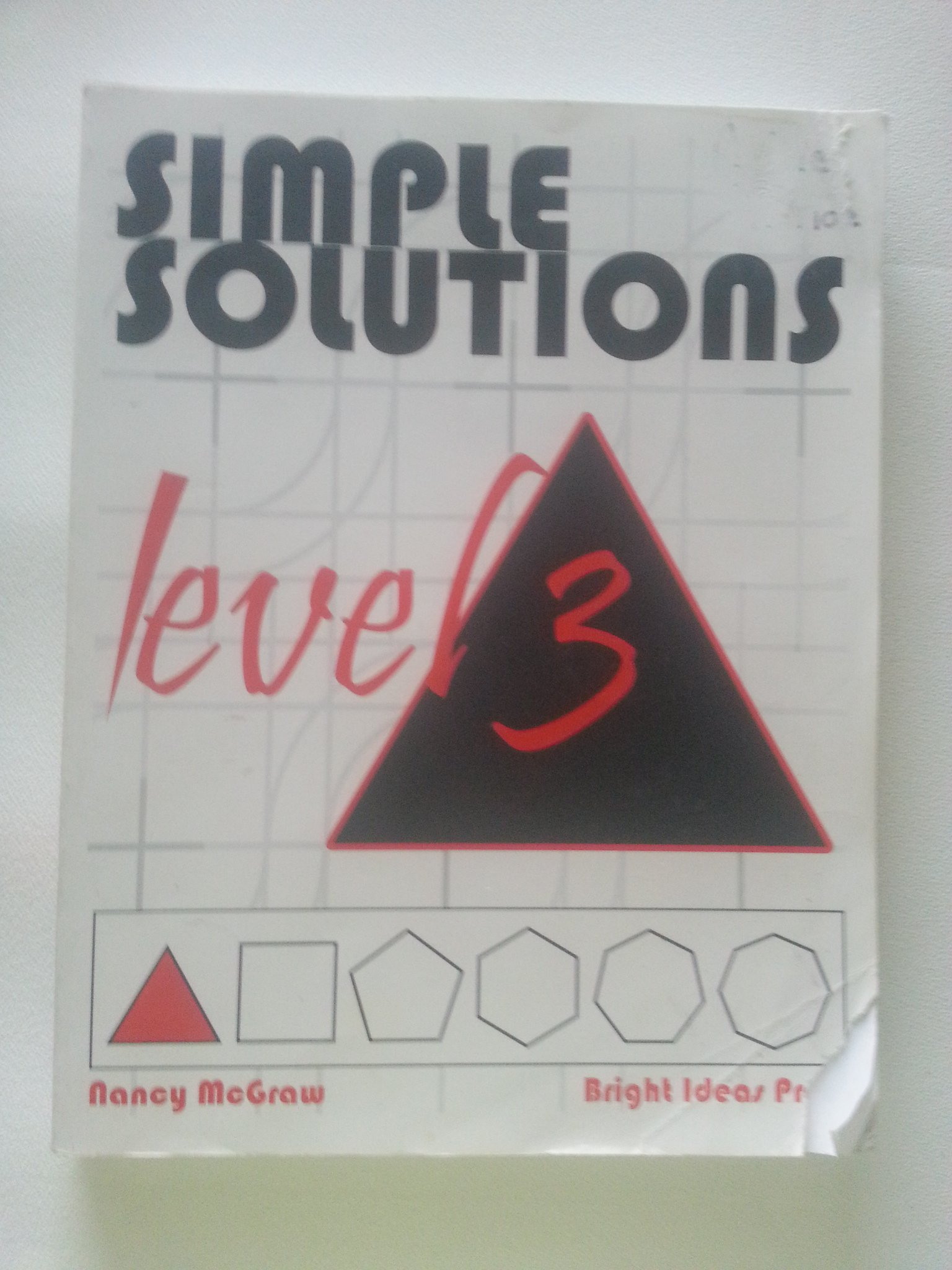 Simple solutions math level 3 nancy l mcgraw 9780972873000 simple solutions math level 3 nancy l mcgraw 9780972873000 amazon books fandeluxe Choice Image