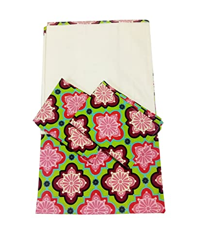 Buy KARUR SS STOCKS DOUBLE COTTON SET WITH 2 PILLOW COVERS WITH