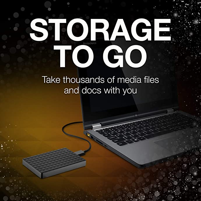 Seagate 希捷 新睿翼 2TB 2.5寸 USB3.0移动硬盘 4.6折$54.99 海淘转运到手约¥404