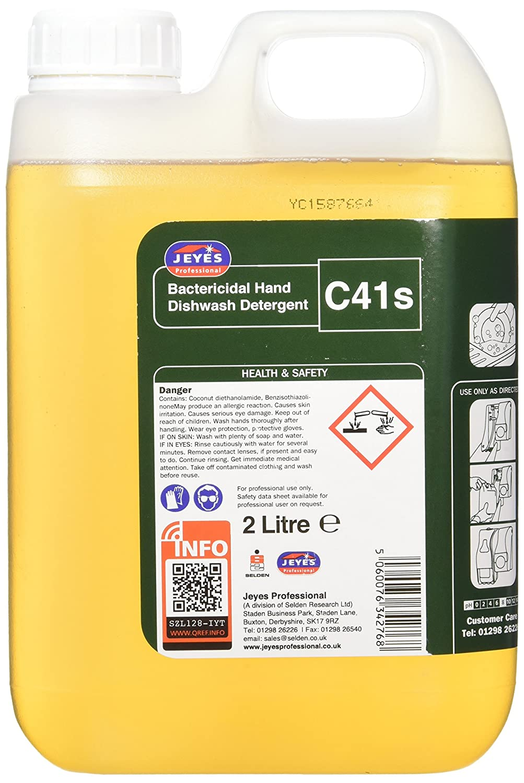 Jeyes Professional BBJ044-2 C41 - Detergente para lavar platos de ...