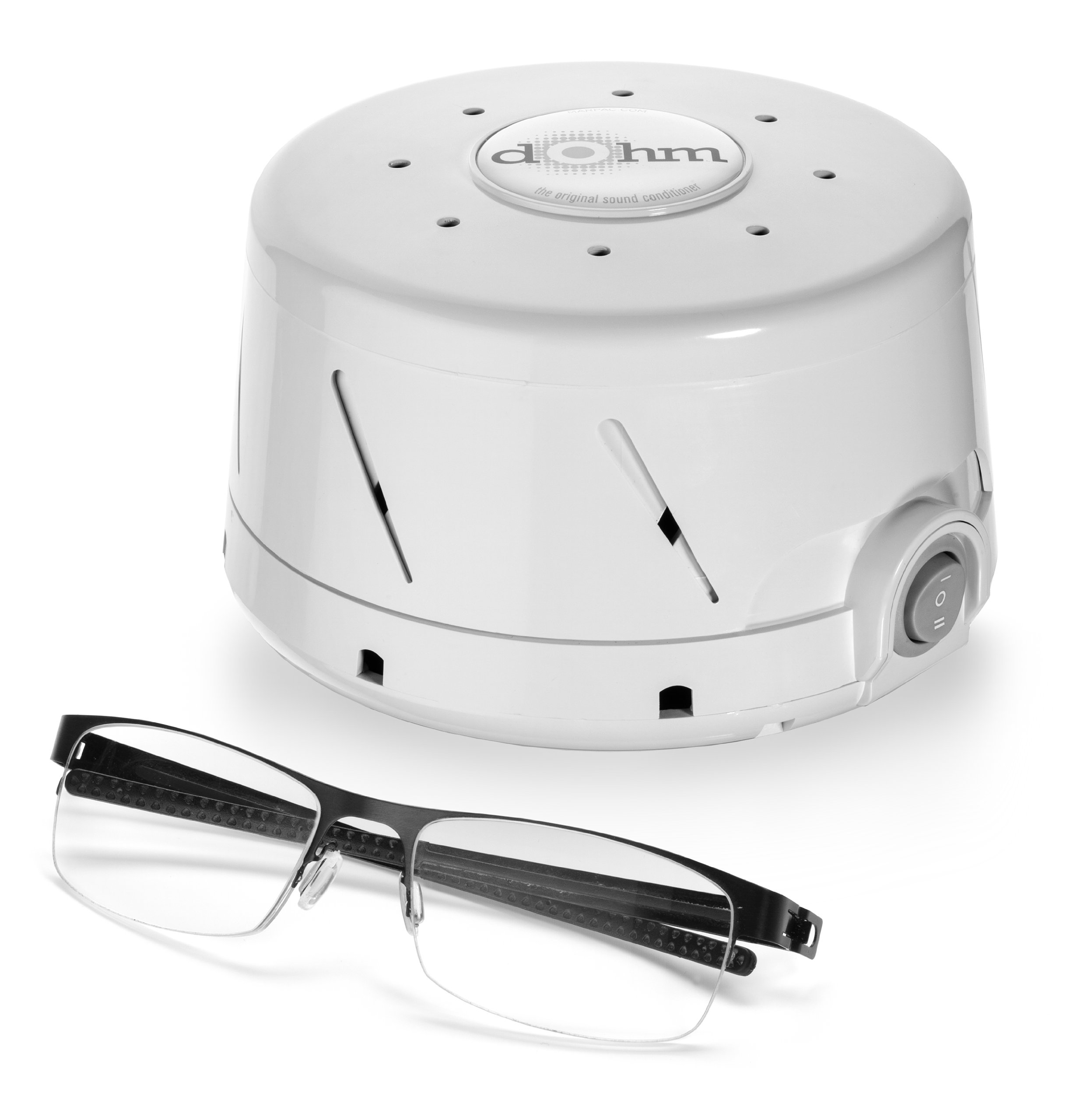 marpac dohm classic white noise sound machine white amazon. Black Bedroom Furniture Sets. Home Design Ideas