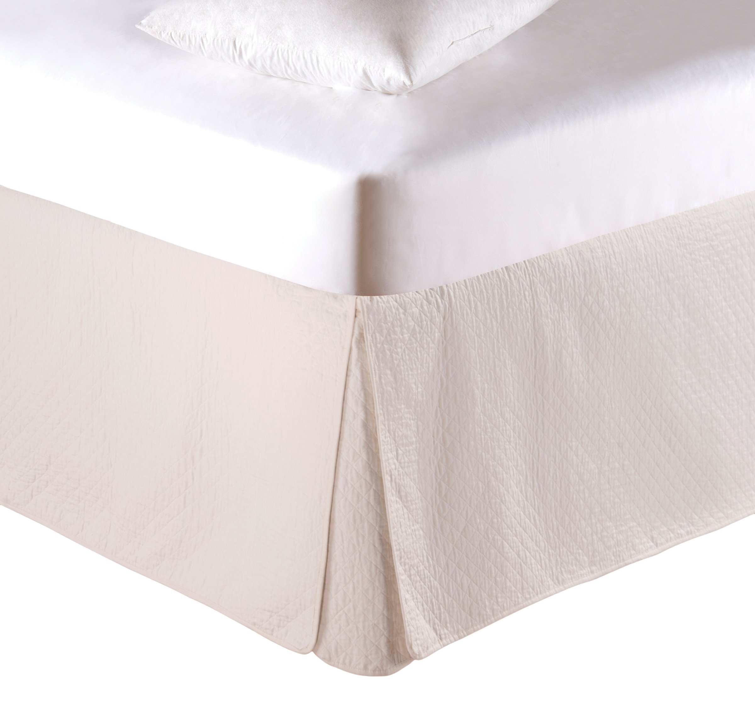 C&F Home Cream Bed Skirt, King by C&F Home