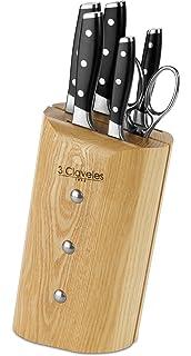 Compra 3Claveles Ash Uniblock - Juego de 5 cuchillos y ...