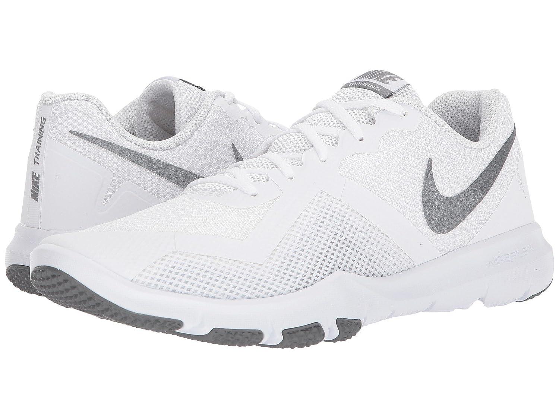 Nike Men's Flex Control II Training schuhe, Weiß Metallic Cool grau Cool grau Größe 10 D(M) US