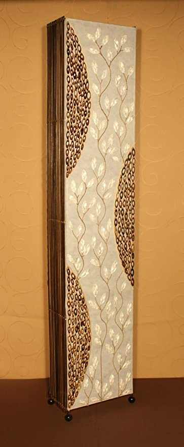 Luminosa Bakula12 Pie Lámpara De 23Decoración Asiatica A5R3L4j