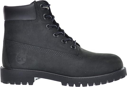 Fatal Geografía máquina de coser  Amazon.com | Timberland Big Kids 6 Inch Premium Waterproof Boots Black  12907 | Industrial & Construction Boots