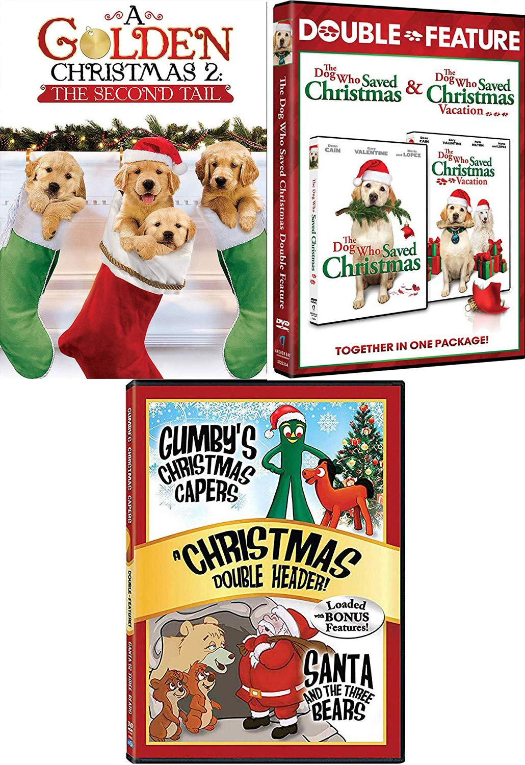 Amazon Com Golden Dogs Holiday Collection Dog Who Saved