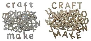 Alfabeto di legno lettere, lettere minuscole lettere maiuscole 180 pezzi circa