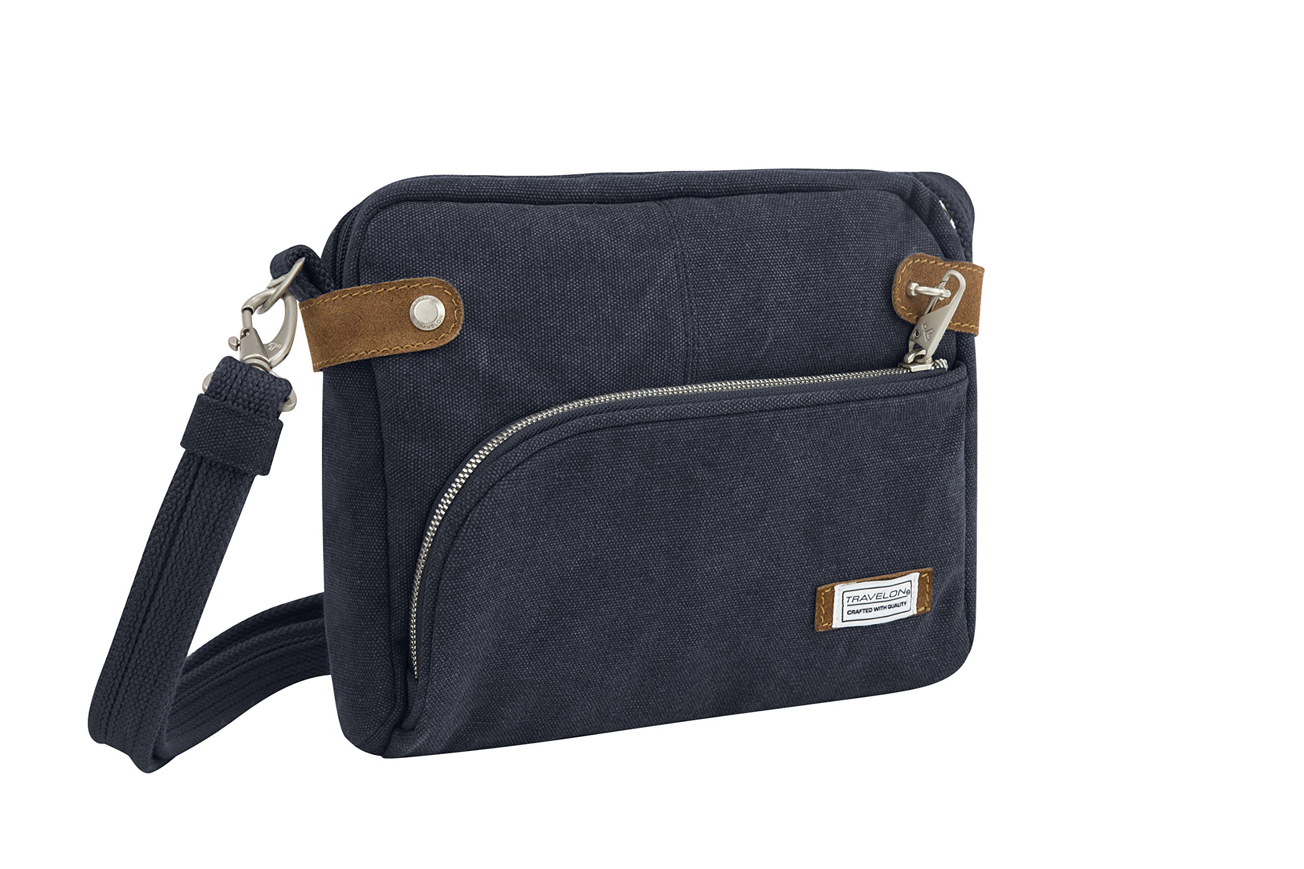 Travelon Anti-theft Heritage Crossbody Bag, Indigo