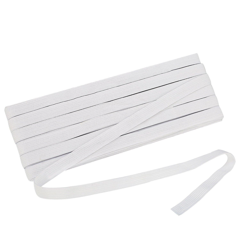 SINGER 76012 Knit Polyester Elastic 1//2-Inch x 1-1//2-Yard White