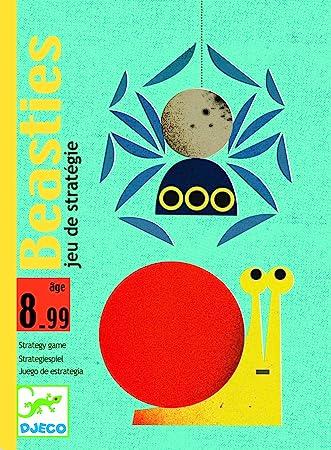 Djeco - Cartas beasties: Amazon.es: Juguetes y juegos