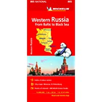 Michelin Western Russia From Baltic to Black Sea