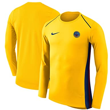 487f889a9 Image Unavailable. Image not available for. Color  Nike Men s NBA Golden  State Warriors Gold City Edition Hyperelite Long Sleeve Performance T-Shirt