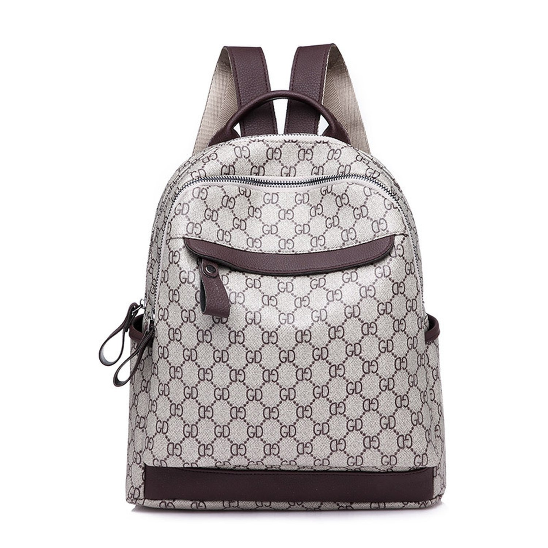 shoulder bag Mummy Backpack Big Fashion Casual Travel Bag Female Print Backpack,Photo Color